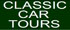 Car tours for classic cars and modern sports cars