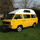 Camper Van Hire Devon - rent classic VW campers